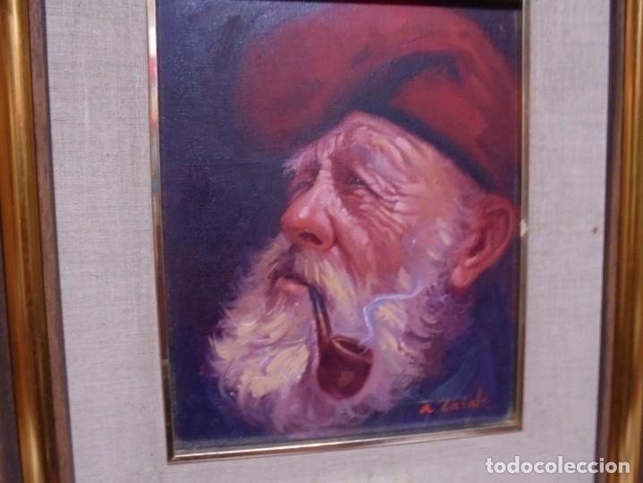 Arte: magnifico oleo sobre lienzo,del pintor A.casals - Foto 5 - 177521127