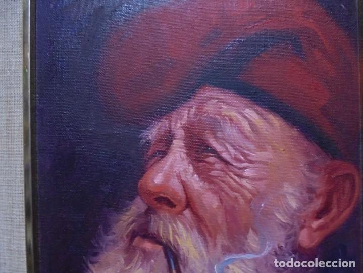 Arte: magnifico oleo sobre lienzo,del pintor A.casals - Foto 6 - 177521127