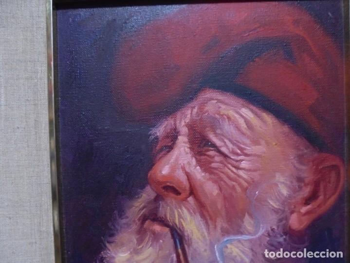 Arte: magnifico oleo sobre lienzo,del pintor A.casals - Foto 7 - 177521127