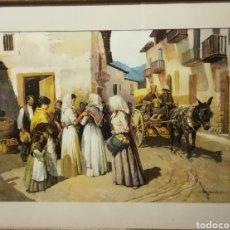 Arte: VIDA RURAL. J GONZALEZ. Lote 177530049