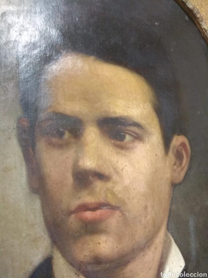 Arte: Oleo - Retrato de Caballero - Firmado y fechado en 1878 Julio Cebrián Mezquita (Valencia 1854-1926) - Foto 30 - 52663172