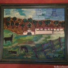 Arte: CUADRO DUQUESA DE ALBA CAYETANA AL OLEO 1963 !! AUTENTICO !! VER FOTOS !!. Lote 177396958