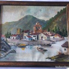 Arte: PINTURA AL OLEO FIRMADO EN 1993 / 44 X 52 CM.. Lote 177614039