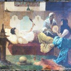 Arte: FIRMADO SIMONETTI. PINTOR ITALIANO. OLEO SOBRE TELA. Lote 177616188