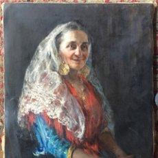 Arte: JOSÉ VILLEGAS Y CORDERO (ATTRIB.) (1844/48-1921) PINTOR ESPAÑOL. OLEO SOBRE TELA.. Lote 177617757