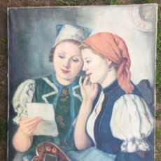 Arte: SZUCS PALMA. PINTOR HUNGARO. OLEO SOBRE TELA.. Lote 177618344