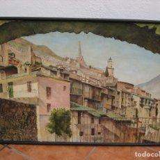 Arte: OLEO SOBRE TELA 1969. 75X53CM. L. BAUDOIN.. Lote 177678744