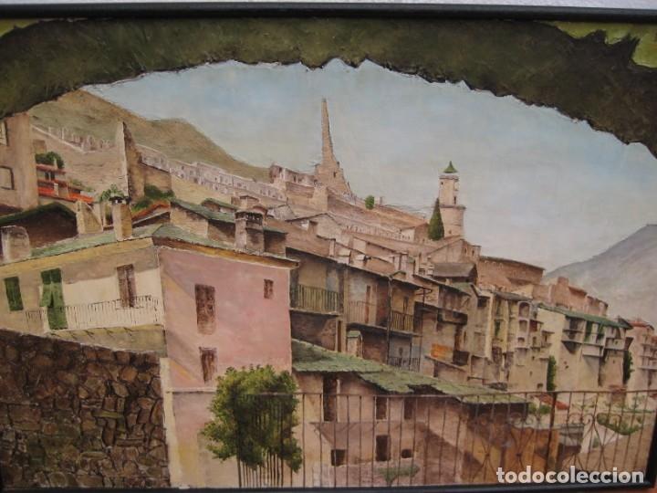 Arte: Oleo sobre tela 1969. 75x53cm. L. Baudoin. - Foto 3 - 177678744