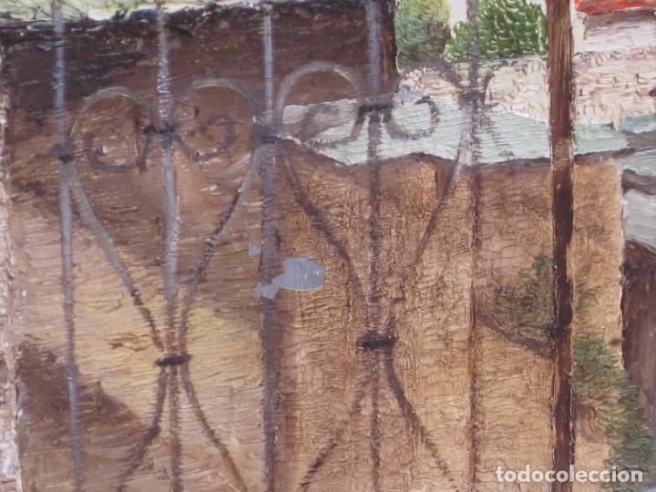 Arte: Oleo sobre tela 1969. 75x53cm. L. Baudoin. - Foto 6 - 177678744