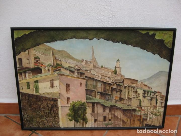 Arte: Oleo sobre tela 1969. 75x53cm. L. Baudoin. - Foto 7 - 177678744