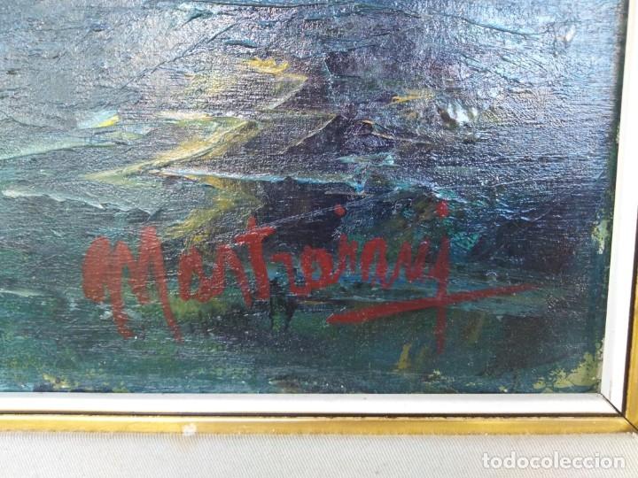 Arte: Vista de Venecia.Plaza de San marcos. óleo sobre tela. Siglo xix 50x60ctms - Foto 4 - 177712447
