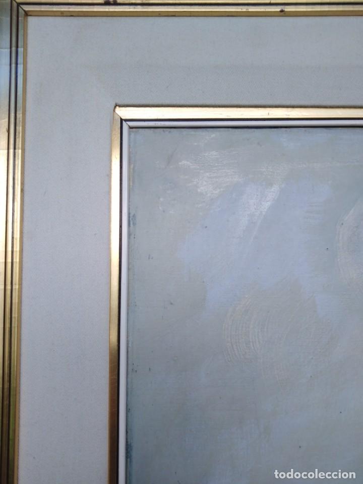 Arte: Vista de Venecia.Plaza de San marcos. óleo sobre tela. Siglo xix 50x60ctms - Foto 19 - 177712447