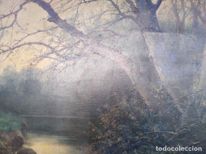 Arte: Óleo lienzo de fernando García camoyano 1867 __ 1930. . 95x65ctms - Foto 3 - 177713348