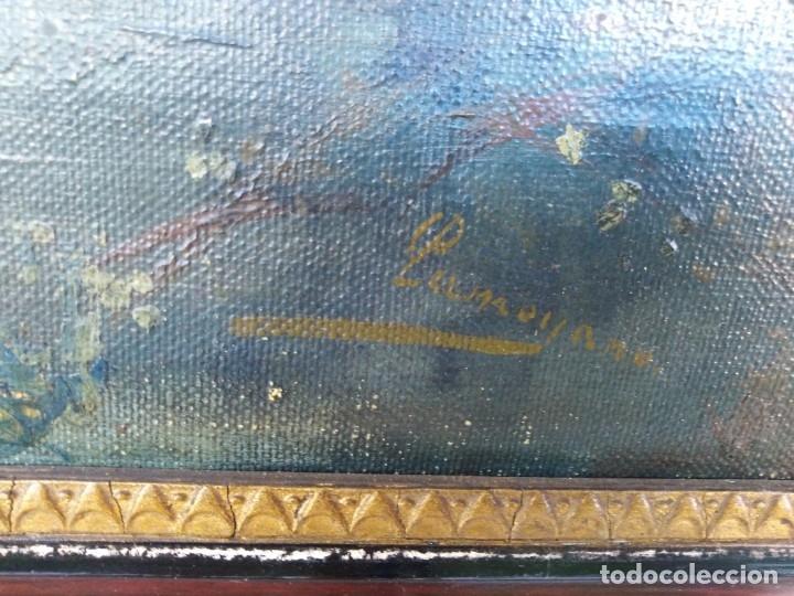 Arte: Óleo lienzo de fernando García camoyano 1867 __ 1930. . 95x65ctms - Foto 4 - 177713348