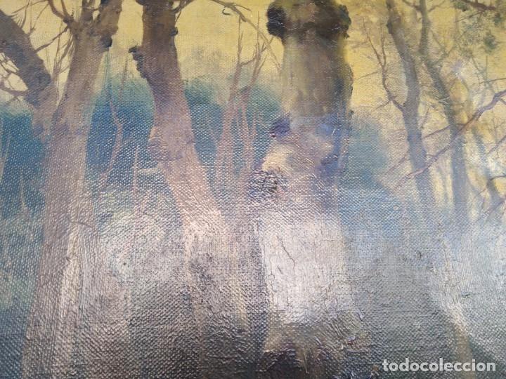 Arte: Óleo lienzo de fernando García camoyano 1867 __ 1930. . 95x65ctms - Foto 5 - 177713348