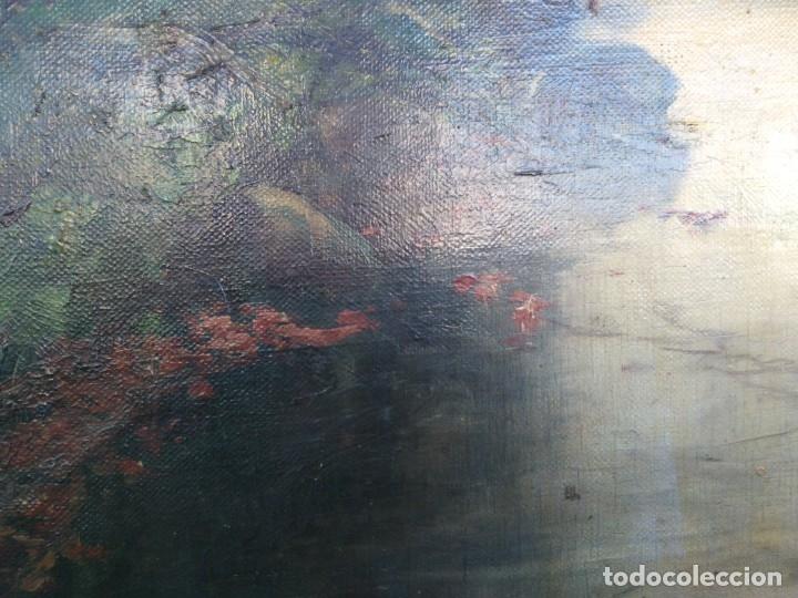 Arte: Óleo lienzo de fernando García camoyano 1867 __ 1930. . 95x65ctms - Foto 8 - 177713348