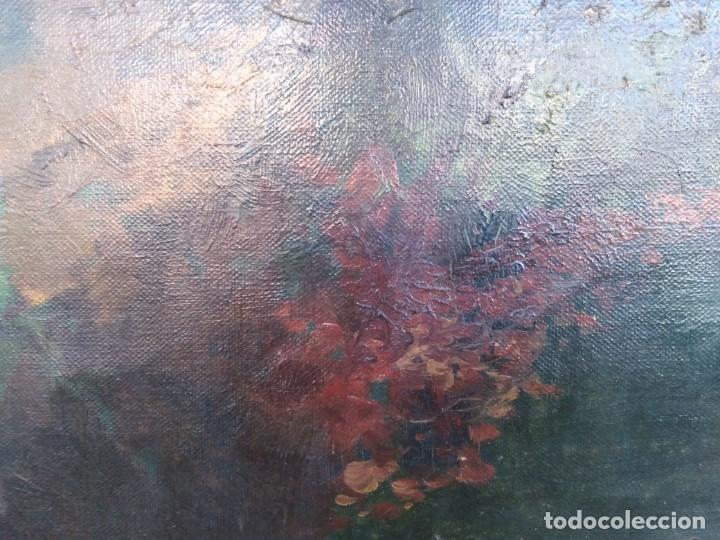 Arte: Óleo lienzo de fernando García camoyano 1867 __ 1930. . 95x65ctms - Foto 9 - 177713348