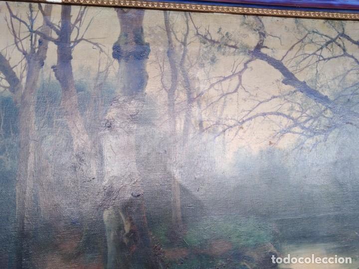 Arte: Óleo lienzo de fernando García camoyano 1867 __ 1930. . 95x65ctms - Foto 10 - 177713348