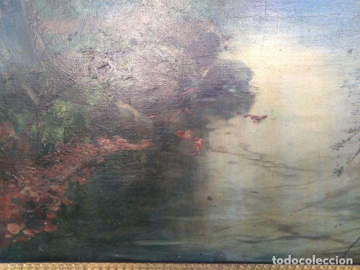 Arte: Óleo lienzo de fernando García camoyano 1867 __ 1930. . 95x65ctms - Foto 11 - 177713348