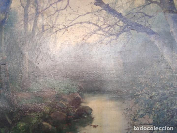 Arte: Óleo lienzo de fernando García camoyano 1867 __ 1930. . 95x65ctms - Foto 12 - 177713348