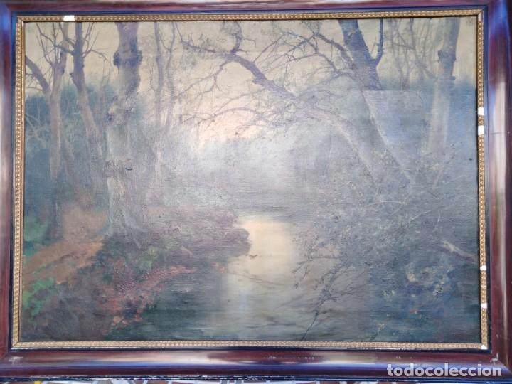 Arte: Óleo lienzo de fernando García camoyano 1867 __ 1930. . 95x65ctms - Foto 13 - 177713348