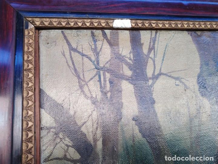 Arte: Óleo lienzo de fernando García camoyano 1867 __ 1930. . 95x65ctms - Foto 14 - 177713348