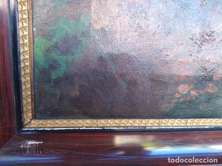 Arte: Óleo lienzo de fernando García camoyano 1867 __ 1930. . 95x65ctms - Foto 17 - 177713348