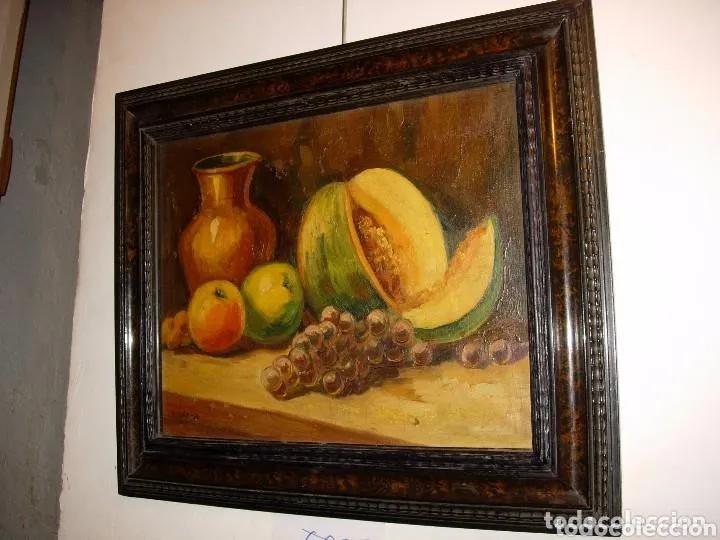 Arte: 2 PINTURAS BODEGONES SIGLO XVIII BUEN ESTADO - Foto 3 - 177737120