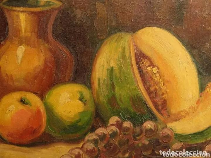 Arte: 2 PINTURAS BODEGONES SIGLO XVIII BUEN ESTADO - Foto 4 - 177737120