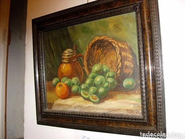 Arte: 2 PINTURAS BODEGONES SIGLO XVIII BUEN ESTADO - Foto 6 - 177737120