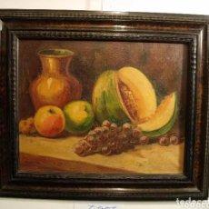Arte: 2 PINTURAS BODEGONES SIGLO XVIII BUEN ESTADO. Lote 177737120