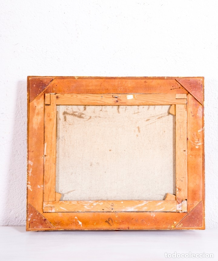Arte: Pintura Óleo Sobre Lienzo - Foto 4 - 177779877