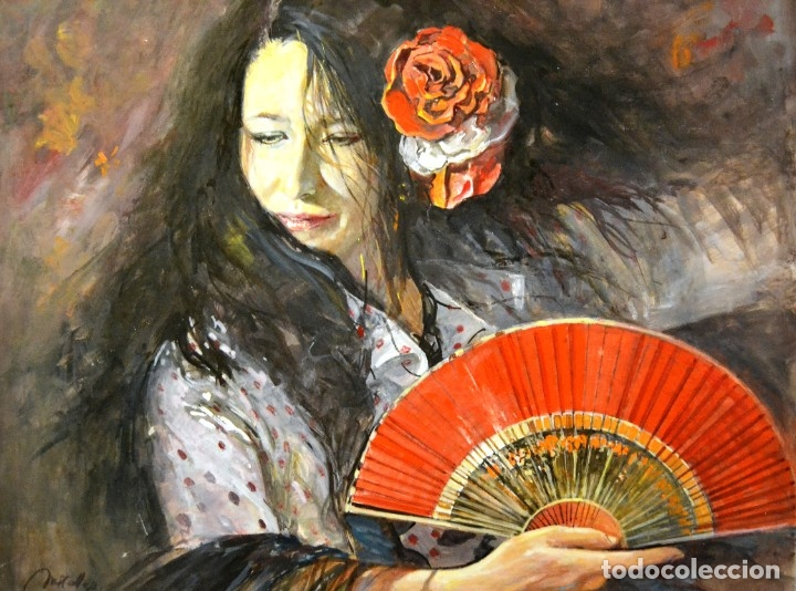 JOSE MARIA MIRALLES (BARCELONA, 1937) OLEO SOBRE LIENZO (Arte - Pintura - Pintura al Óleo Contemporánea )