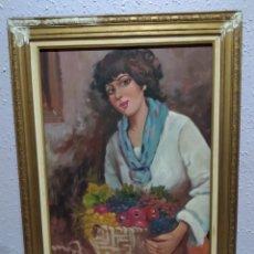 Arte: CUADRO OLEO EN LIENZO FIRMADO ( A. MIRA ), ANTIGUO . MÁS CUADROS ANTIGUOS EN MI PERFIL.. Lote 177835024