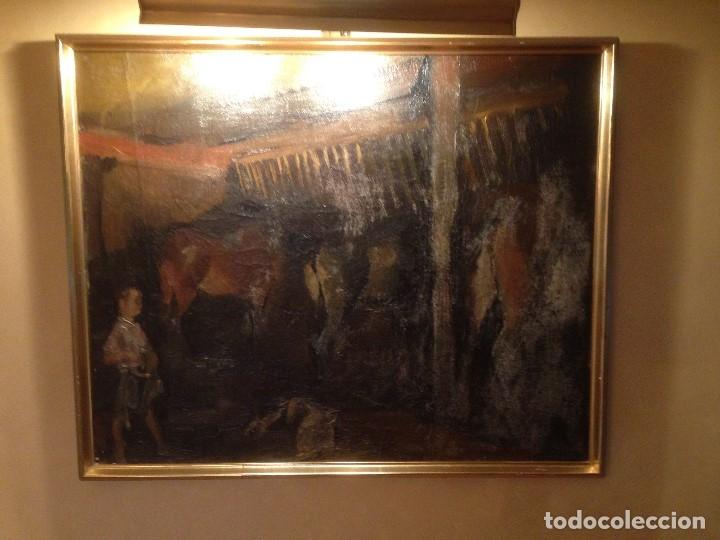 XAVIER BLANCH (1918-1999) (Arte - Pintura - Pintura al Óleo Moderna sin fecha definida)