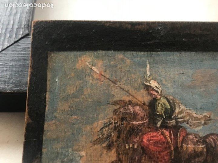 Arte: IMPORTANTE MINIATURA- OLEO SOBRE TABLA ESCENA ORIENTALISTA FIRMADA FORTUNY. MEDIADOS XIX - Foto 10 - 177897988