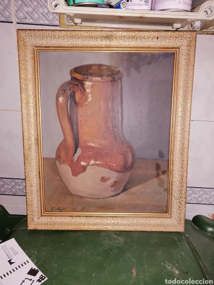 BODEGÓN DEL PINTOR GALLEGO (Arte - Pintura - Pintura al Óleo Antigua sin fecha definida)