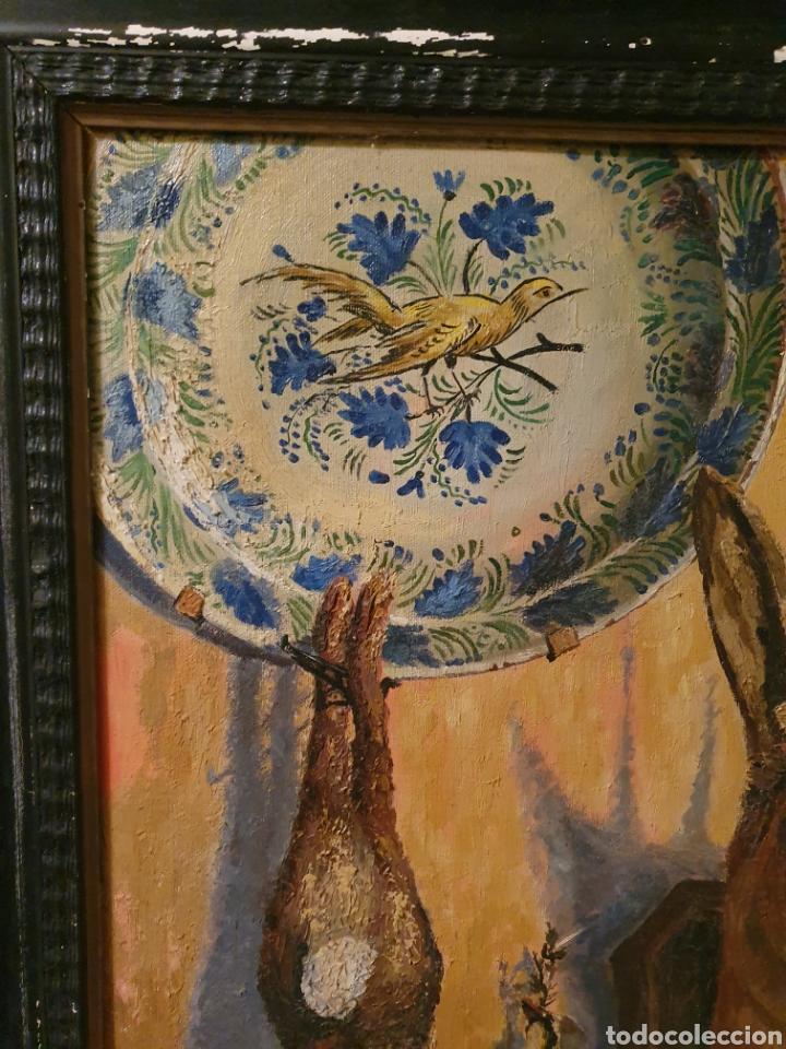 Arte: GRAN BODEGON DE NATURALEZA MUERTA FIRMADO FAUSTO ANTONIO MOYA - Foto 2 - 178146738
