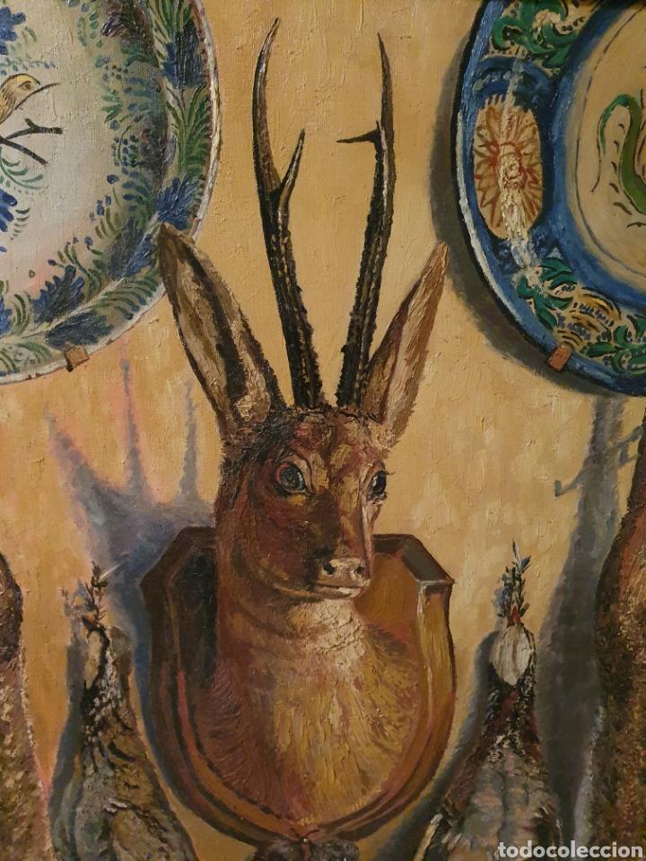 Arte: GRAN BODEGON DE NATURALEZA MUERTA FIRMADO FAUSTO ANTONIO MOYA - Foto 3 - 178146738