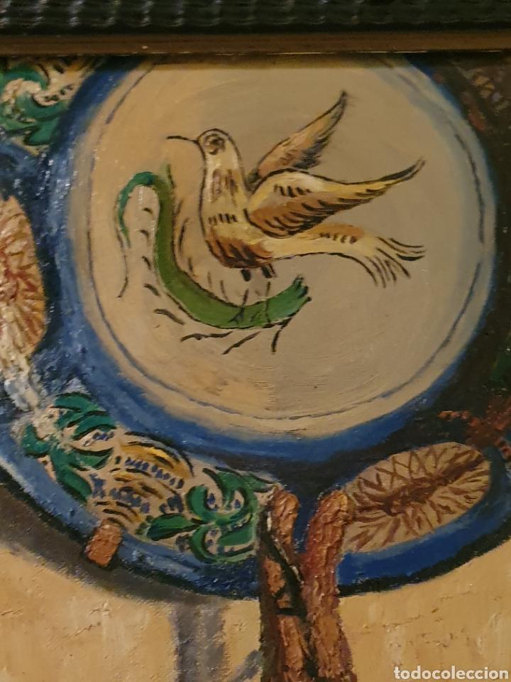 Arte: GRAN BODEGON DE NATURALEZA MUERTA FIRMADO FAUSTO ANTONIO MOYA - Foto 5 - 178146738