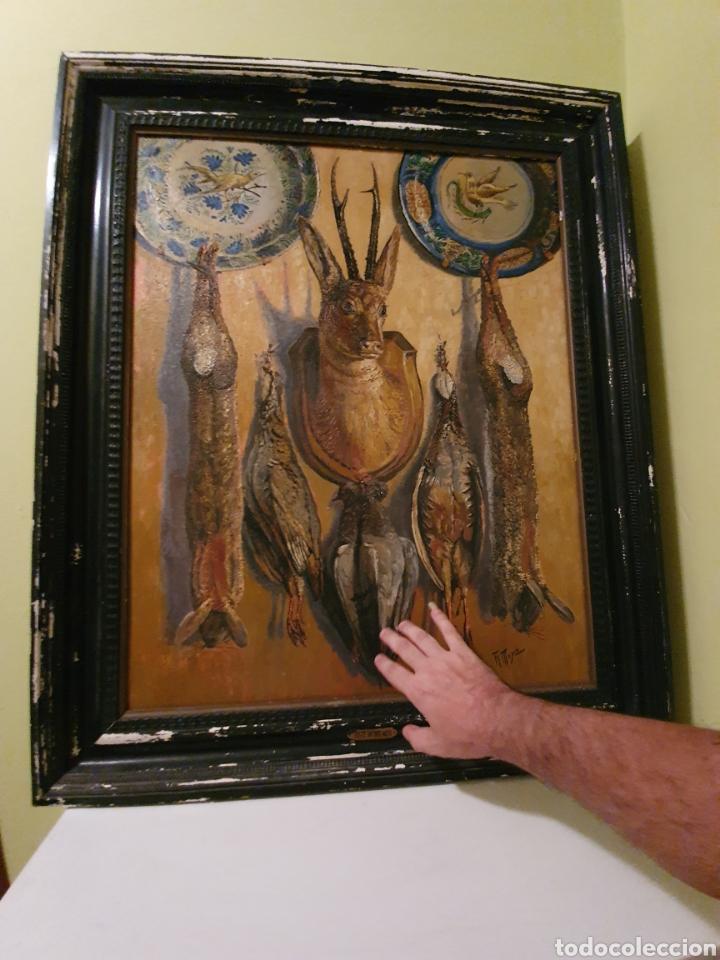 Arte: GRAN BODEGON DE NATURALEZA MUERTA FIRMADO FAUSTO ANTONIO MOYA - Foto 8 - 178146738