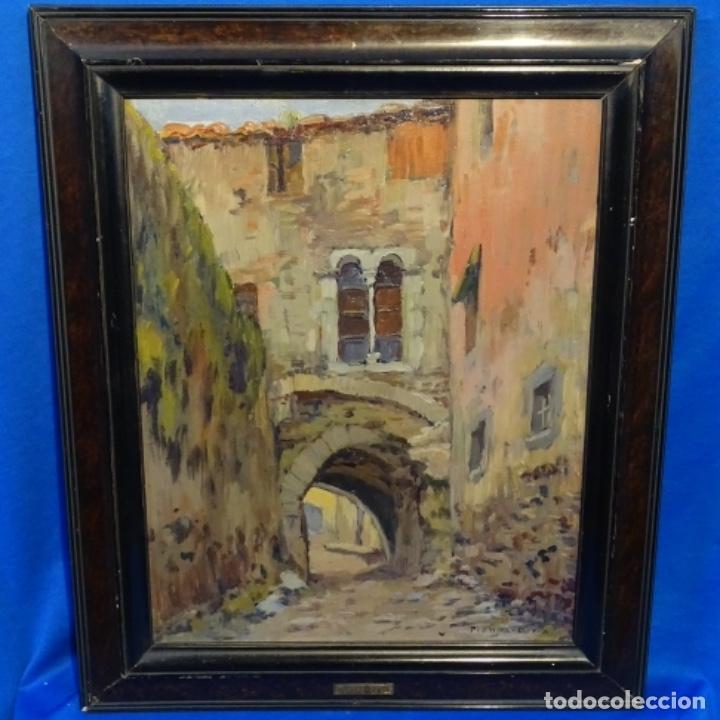 Arte: Oleo Francesc planas doria(Sabadell 1879-1955).gran calidad. - Foto 2 - 178159869