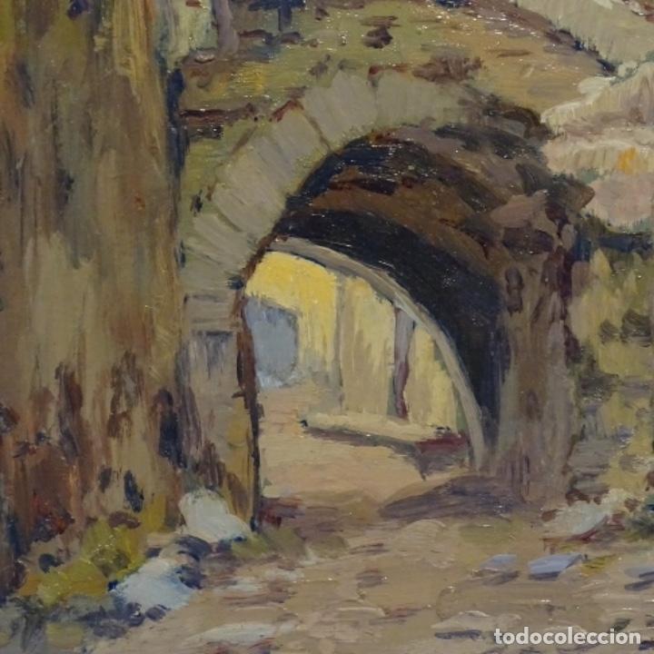 Arte: Oleo Francesc planas doria(Sabadell 1879-1955).gran calidad. - Foto 5 - 178159869