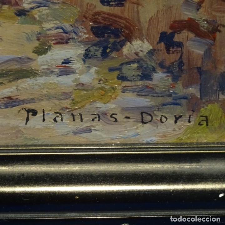 Arte: Oleo Francesc planas doria(Sabadell 1879-1955).gran calidad. - Foto 8 - 178159869