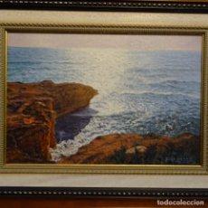 Arte: OLEO DE FRANCESC LLORACH I BALCELLS (TORREDEMBARRA 1914-2006).AMANECER.. Lote 178160037