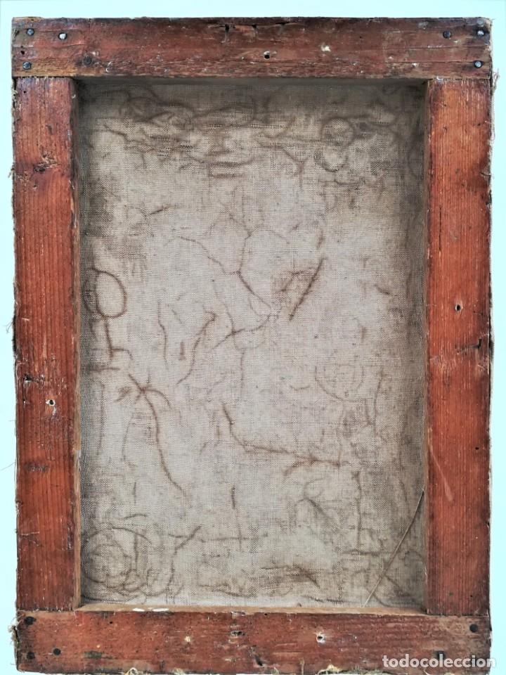 Arte: PINTURA EROTICA FRANCESA,SIGLO XIX,MUJER DESNUDA FRENTE AL ESPEJO,FIRMADA PINTOR LESIEUR,EROTISMO - Foto 9 - 178287133