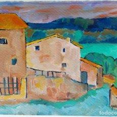 Arte: JOAN QUERALT DE QUADRAS (1.947) - CAMÍ AVALL (GÒSOL) - OBRA 2.008. Lote 178305828
