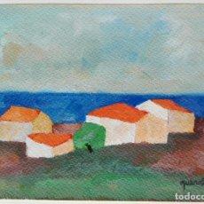 Arte: JOAN QUERALT DE QUADRAS (1.947) - PAISATGE PROVENÇAL - OBRA 2.005. Lote 178307072