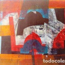 Arte: PINTURA ABSTRACTA DEL PINTOR CATALAN JOSEP MARFA GUARRO DE BARCELONA. Lote 178359943