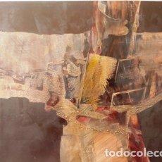Arte: PINTURA ABSTRACTA DEL PINTOR CATALAN JOSEP MARFA GUARRO DE BARCELONA. Lote 178360057